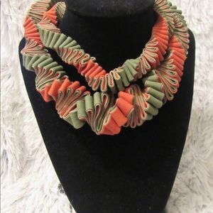 Jewelry - Handmade fabric neckclace buy 3 get 1 for free